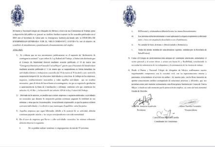 Análisis jurídico respecto de los acuerdos publicados en el DOF por el Secretario de Salud ante el COVID-19.