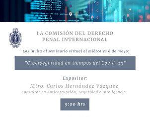 Seminario de Ciberseguridad en tiempos del Covid-19