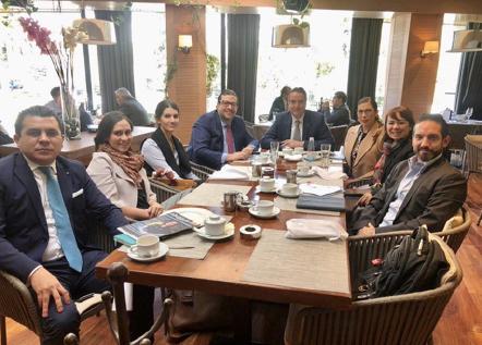 Hoy celebramos una reunión de trabajo de las coordinaciones de las Comisiones de Derecho Tributario; Prevención de Lavado de Dinero; Amparo y Procesos Constitucionales; y Constitucional y Derechos Humanos.