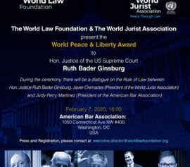 Inician los trabajos de la World Law Foundation en Washington