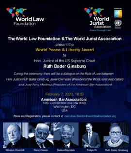Inician los trabajos de la World Law Foundation en Washington