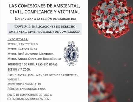 COVID-19: Implicaciones de Derecho Ambiental, Civil, Victimal y de Compliance.