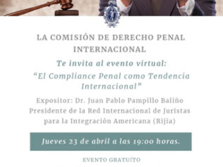 El Compliance Penal como Tendencia Internacional