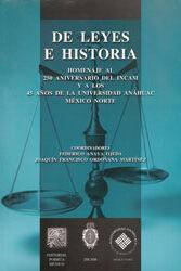De leyes e historia