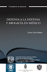 Defensa a la defensa y abogacía en México