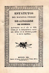 Estatutos del Nacional Colegio de Abogados de MéxicoV2