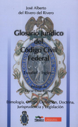 Glosario Jurídico del Código Civil Federal