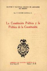 La Constitución Política y la Política