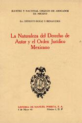 La Naturaleza del derecho de Autor y el Orden