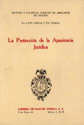 La Protección de la Aparencia Jurídica