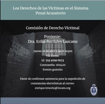 Los Derechos de las Víctimas en el Sistema Penal Acusatorio