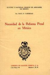 Necesidad de la Reforma Penal en México
