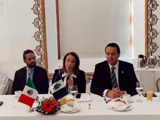 Desayuno con la ministra: Yasmín Esquivel Mossa.